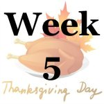 Week 5 of the Stress Free Holidays Challenge {on Household Management 101}
