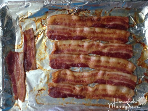 how to cook bacon in the oven at 350