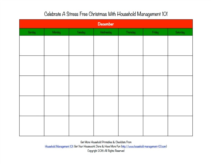 photo regarding Printable Christmas Calendar known as Printable Xmas Calendar For December