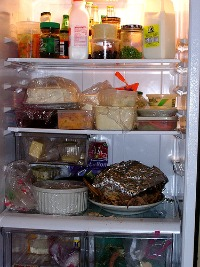 refrigerator after Thanksgiving