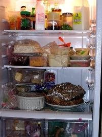 refrigerator after Thanksgiving