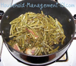 cooking green beans southern style