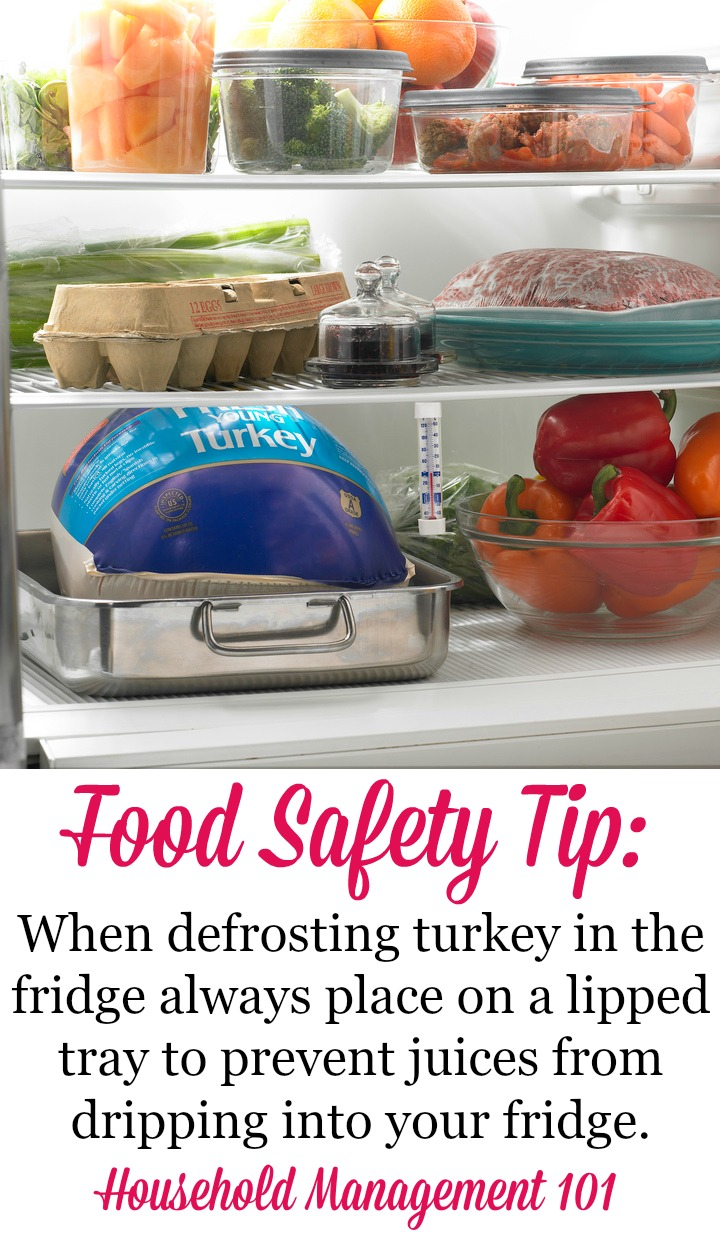 defrosted turkey