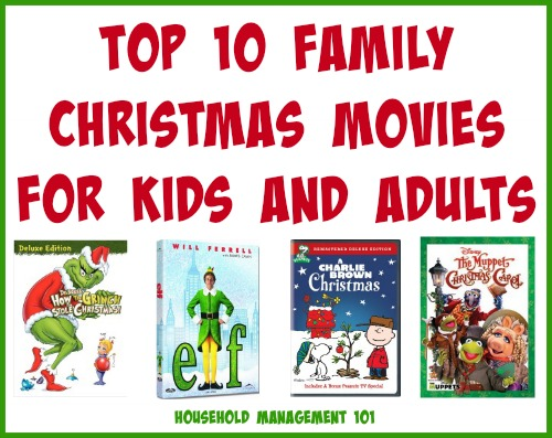 Top 10 Family Christmas Movies For Kids & Adults