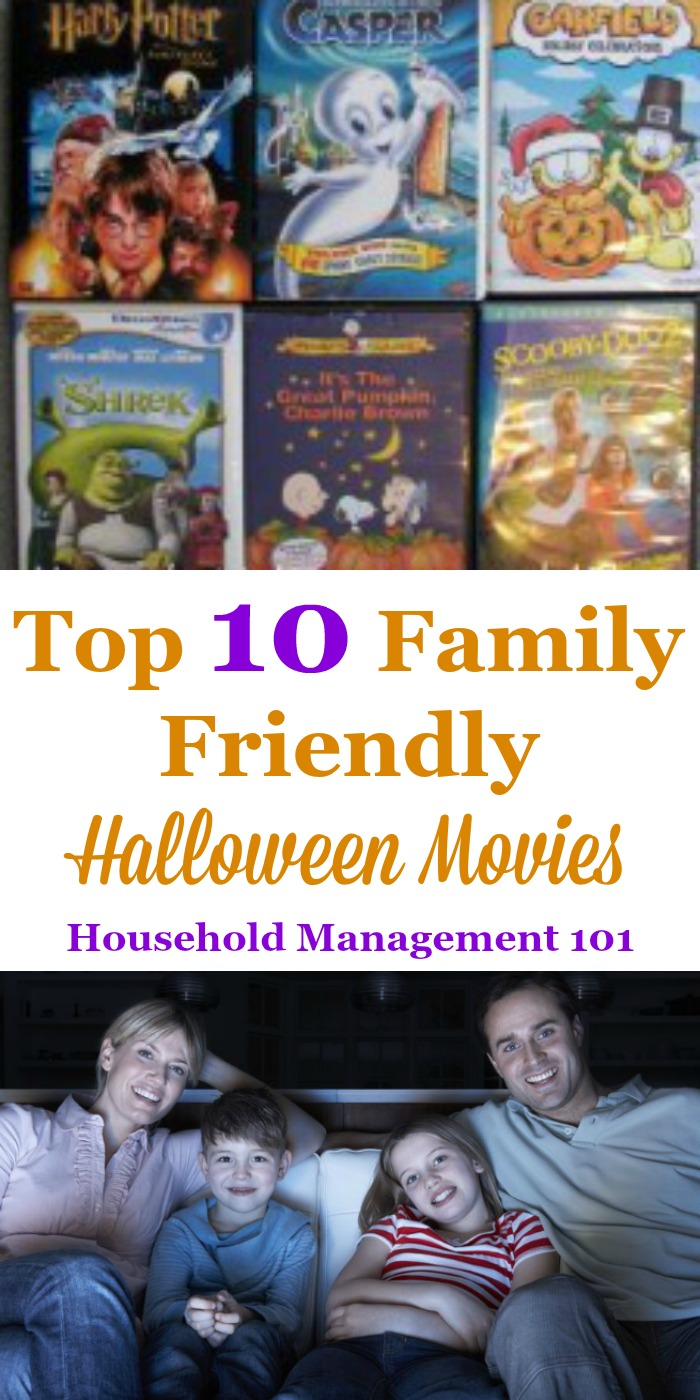 Top 10 Family Halloween Movies: Not Too Scary Movies Your Whole ...