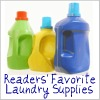 readers' favorite laundry supplies