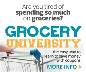Grocery University review, for 2+ hour audio couponing course, to save money on your groceries