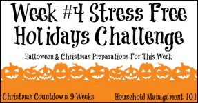 Stress Free Holidays Week 4