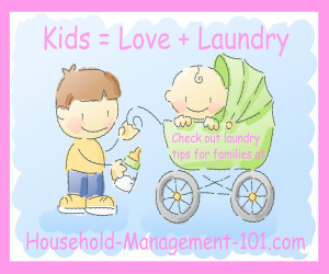 Kids = Love + Laundry
