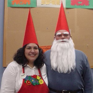 homemade gnome costume