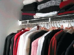 household inventory of closet