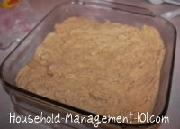 pan of peanut butter fudge