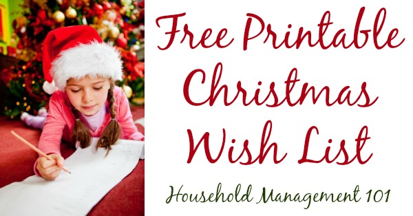 photo regarding Free Printable Christmas Wish List called Absolutely free Printable Xmas Need Checklist For Young children Grown ups