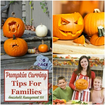 Pumpkin carving tips for families