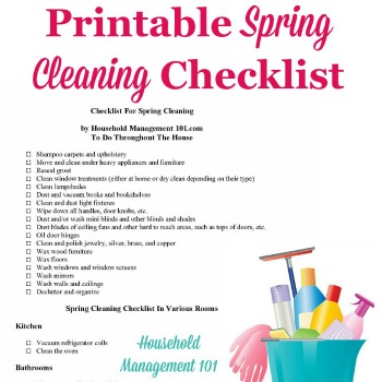 Top Ten Spring Cleaning Safety Tips