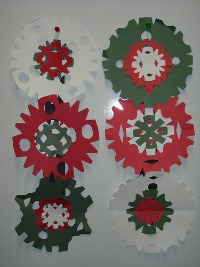 homemade Christmas craft