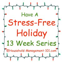 stress free holidays