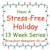 stress free holidays at household management 101