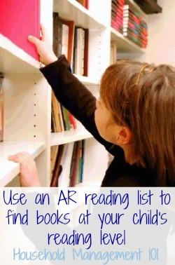 girl choosing library book