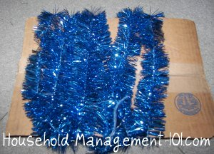 christmas garland storage