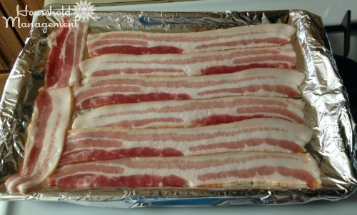 Step 3: how to cook bacon in the oven