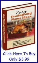 easy Thanksgiving dinner ideas ebook