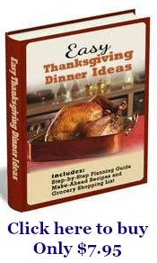 easy Thanksgiving dinner ideas ebook