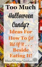 ideas for what to do with leftover Halloween candy