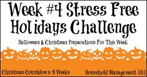 Stress Free Holidays Week 4