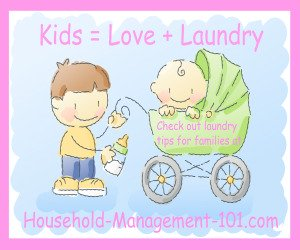 Kids = Love + Laundry
