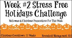 Stress Free Holidays Week 2