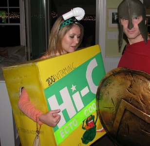 homemade juice box costume