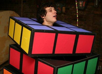 rubix cube halloween costume