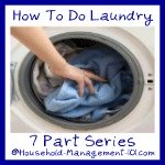 how to do laundry series