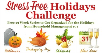 Join the Stress Free Holidays Challenge