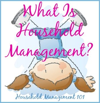 what is household management?