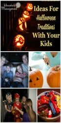 Ideas For Halloween Traditions With Your Kids