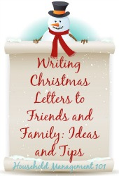 Writing Christmas Letters