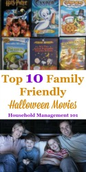 Top 10 Family Halloween Movies