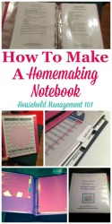 Homemaking Notebook