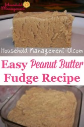 Easy Peanut Butter Fudge Recip