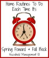 Spring Forward Fall Back