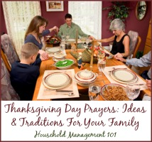 Thanksgiving Day Prayers