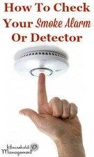 Check Smoke Alarm