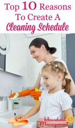 Reasons To Create A Cleaning Schedule For Your Home