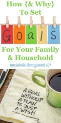 Set Your Goals For Your Family