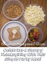 Snoopy Thanksgiving Movie And Party