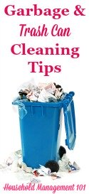 Garbage & Trash Can Cleaning Tips